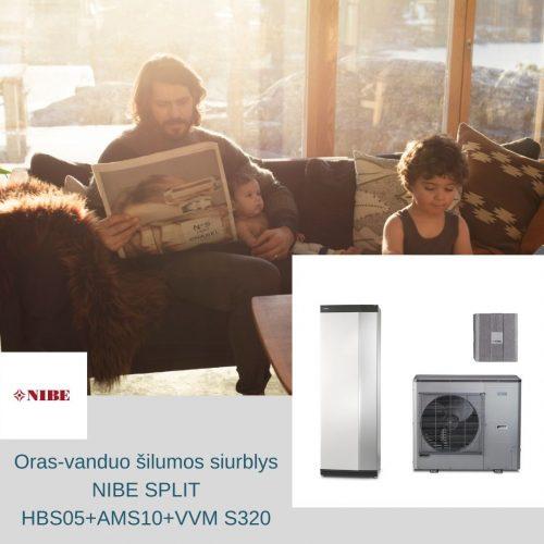 nibe split hbs 05+ams10+vvm s320