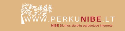 NIBE šilumos siurblių e-parduotuvė logo